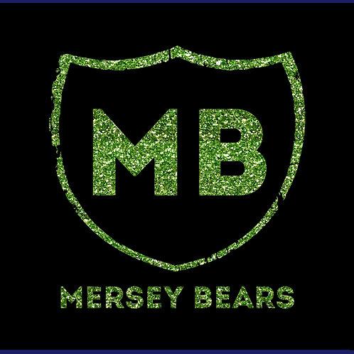 MERSEY BEARS ONE WORD / GLITTER TS