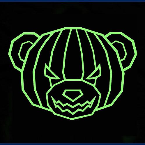 PUMPKIN OUTLINE BEAR / TS GLW