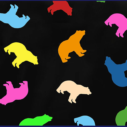COLOURED BEARS EVERYWHERE / TS
