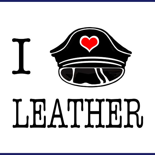 I LOVE LEATHER / TS