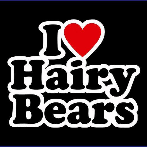 I LOVE HAIRY BEARS / TS