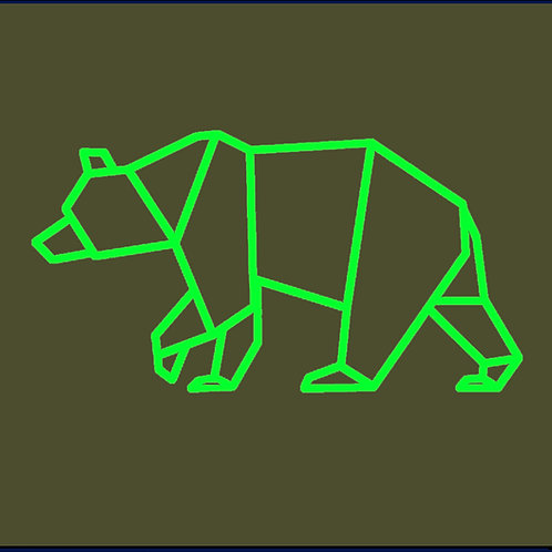 GEOMETRIC BEAR / HD