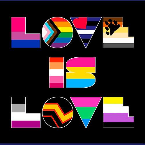 LOVE IS LOVE / TS