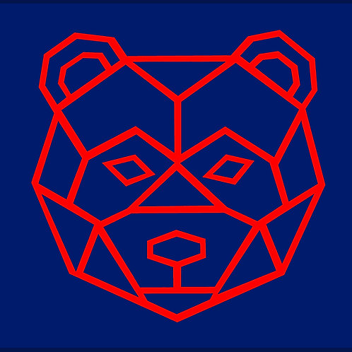 BEAR FACE OUTLINE / HD
