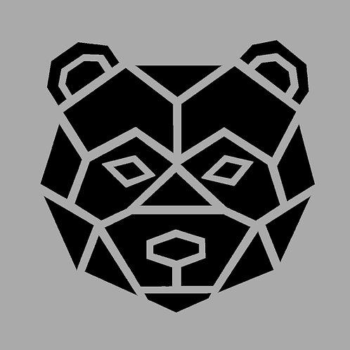 BEAR FACE OUTLINE / SC