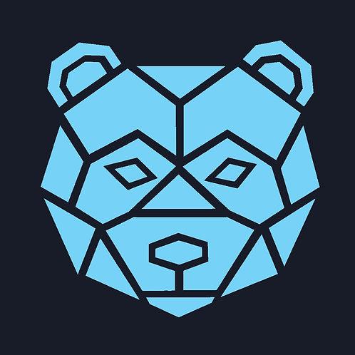 BEAR FACE OUTLINE / CSTC
