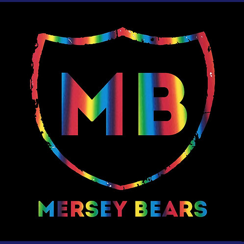 MERSEY BEARS ONE WORD / MULTICOLOUR TS