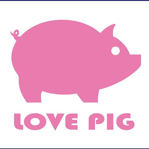 LOVE PIG / W TS SS