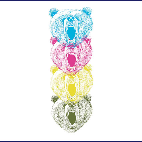 4 COLOURS BEARS / FLF