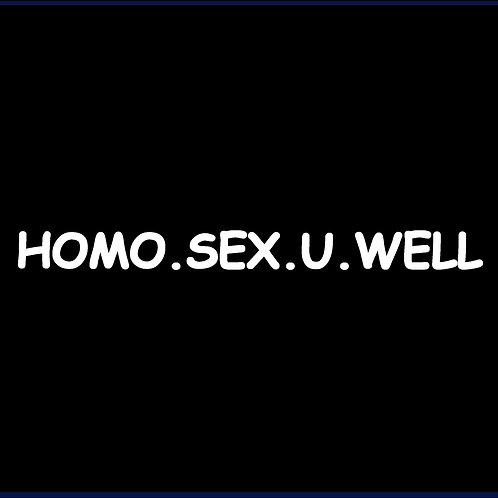 HOMO.SEX.U.WELL / BSS