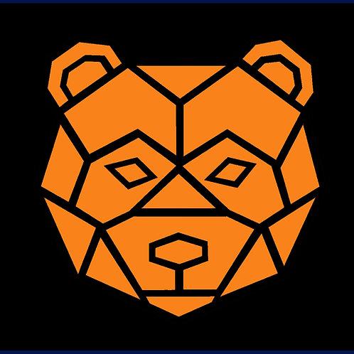 BEAR FACE GEOMETRIC / CAP