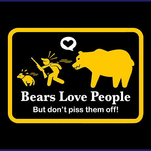 BEARS LOVE PEOPLE / TS