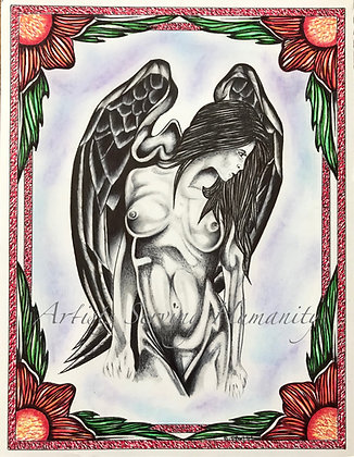 Flowers and Art Series #25 - Beautiful Wings