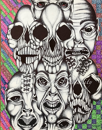 Color Series #13 - Bad Dreams