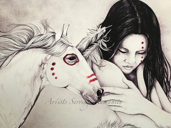 Girl and War Horse
