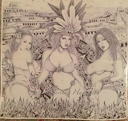 Modern Aztec Woman