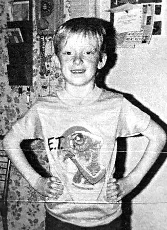 Curt Searing childhood photo