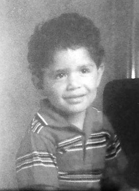 V. Ojeda childhood photo