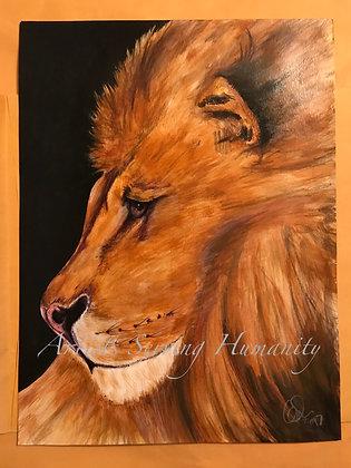 Peaceful Lion