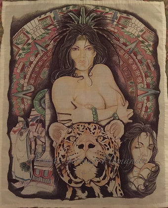 Strong Aztec Woman