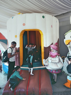 Bouncy castles at your funfair event