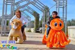 Animal Plush Mechanical Rides
