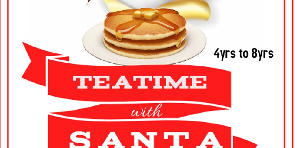 Teatime with Santa