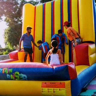 Sticky Velcro Wall Inflatable