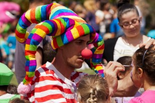 Face painting at your funfair event