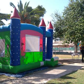 Castle Combo Bouncy Castle