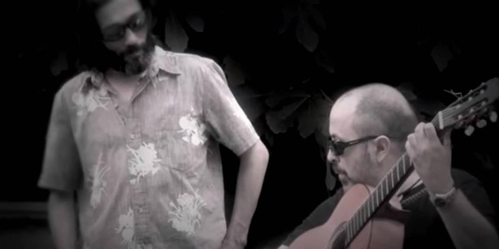 """Chico Ocaña (Mártires del Compás) y Rafael Rodríguez """"El Cabeza"""""""