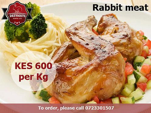 Assorted Rabbit Meat (1 Kg)