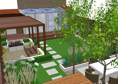 Garden Design Services in Wandsworth, Wimbledon, Richmond and Surrounding areas