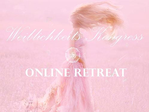 Zugang zum Online Weiblichkeits Retreat