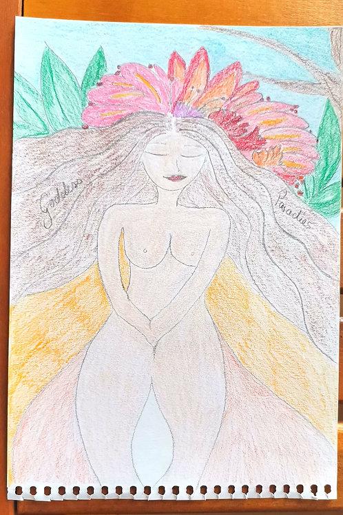 Goddess Paradise Weiblichkeits Kunst