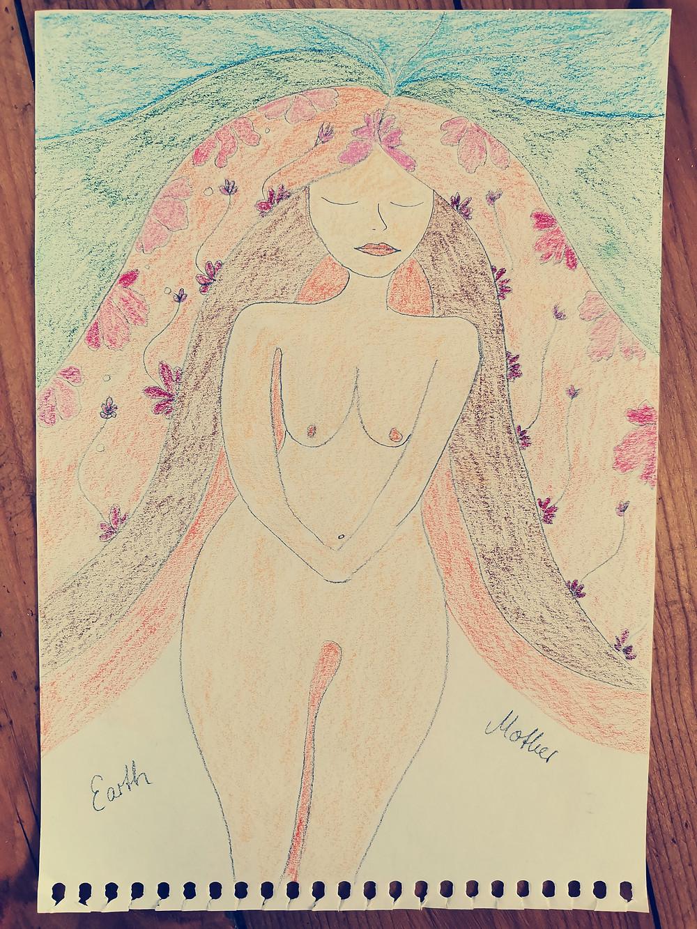 Göttin in Dir Weiblichkeits Kunst