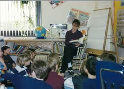 Marin Plank teaching
