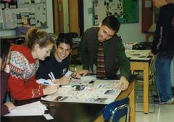 Chris Shephard teaching 1