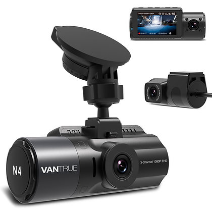 Vantrue N4 3 Channel Dash Cam