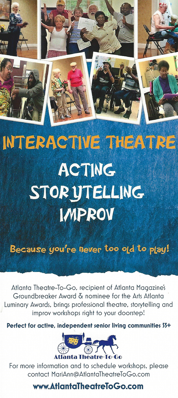 Interactive Theatre Introduction Pamphle