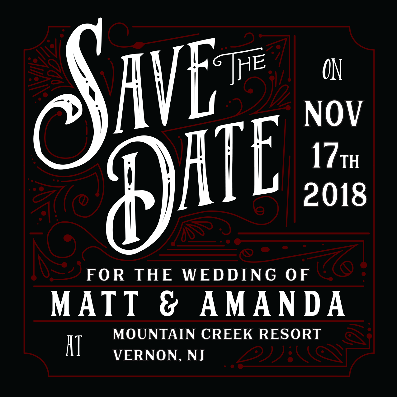 Matt & Amanda Save the Date