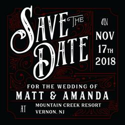 Matt & Amanda Save the Date