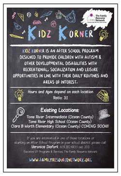 Kidz Korner Flyer