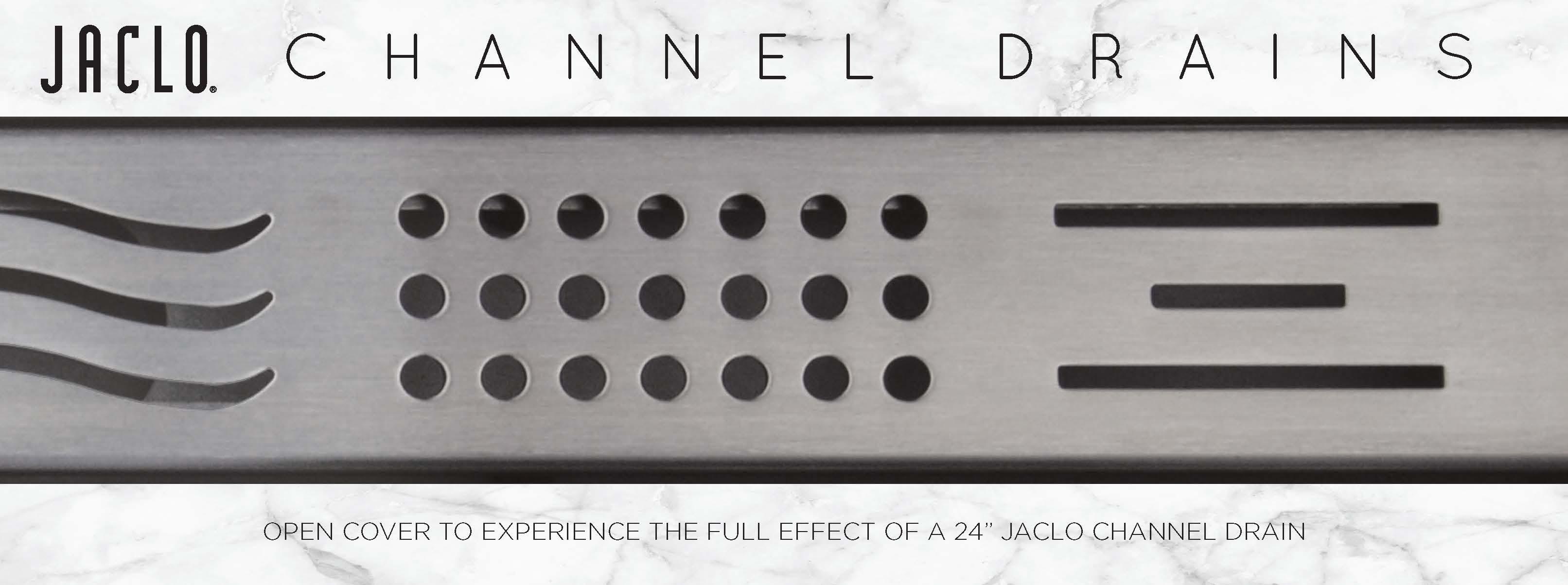 Channel Drain Brochure Cover