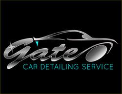 Gate Car Detailing Service Logo