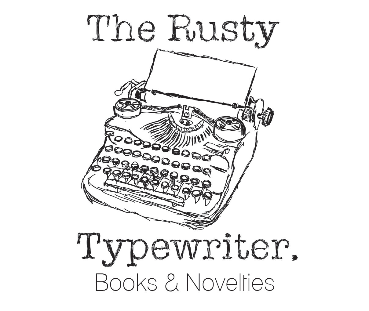 The Rusty Typewriter Logo