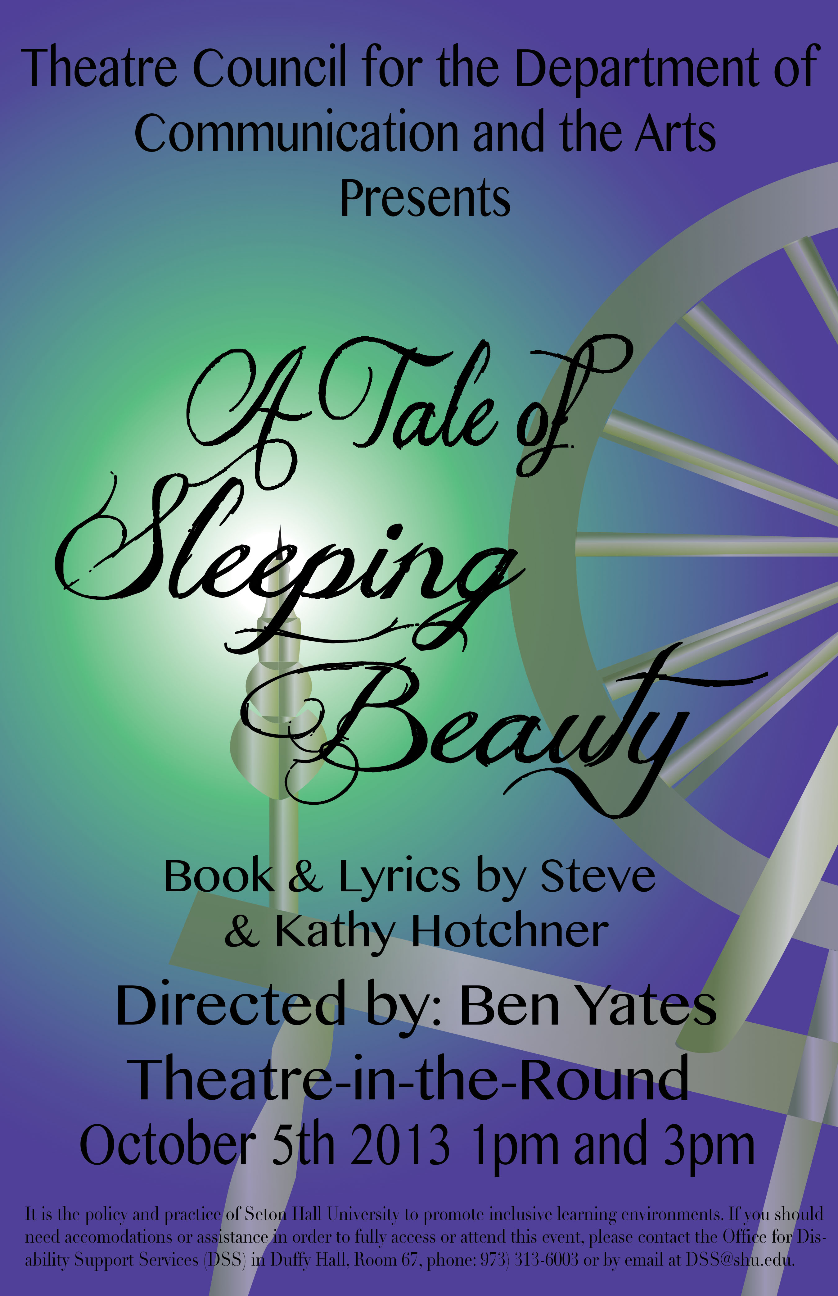 A Tale of Sleeping Beauty Poster