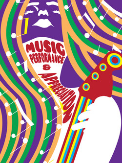 70s Music Major Poster