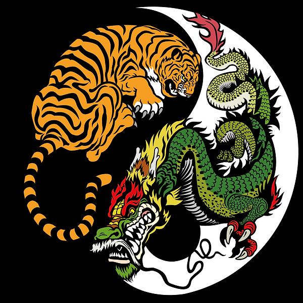 เสือ-มังกร