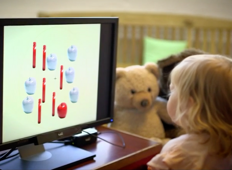 Toddlers who use touchscreens show attention differences